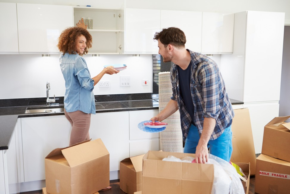 getting organized in your new home