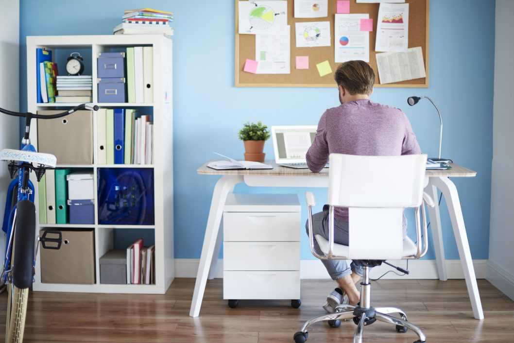 prepare your home office for a move